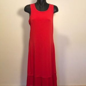 Red MK shift dress